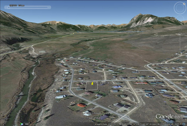 crested butte lot with view