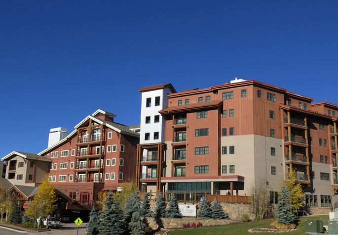 lodge at mountaineer square condos Crested Butte real estate