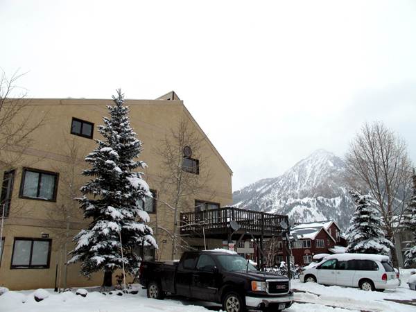 Silvanite Condos Crested Butte CO