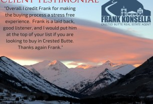 crested butte recommended realtor