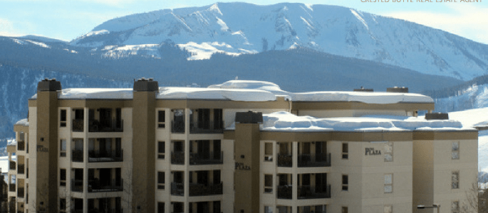 plaza condos sold in Crested Butte