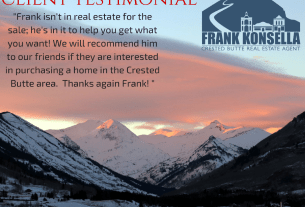 Crested Butte recommended real estate agents