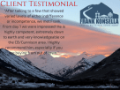 Frank Konsella crested butte real estate client review