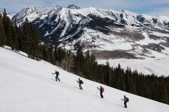 Crested Butte Colorado Backcountry Downhill Skiing and Yoga Retreat
