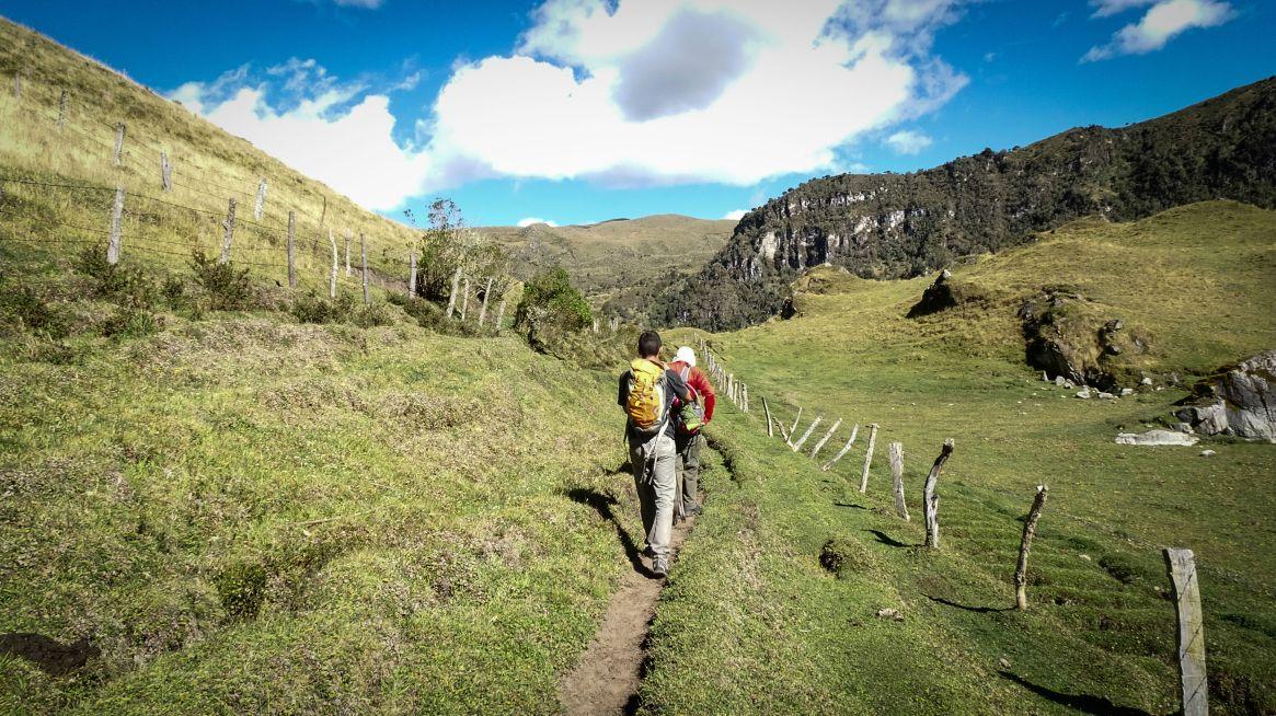 The Otún traverse