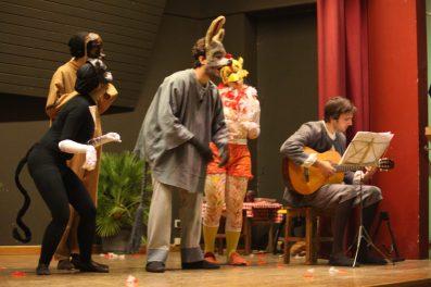 La troupe Benvenuti Cellini