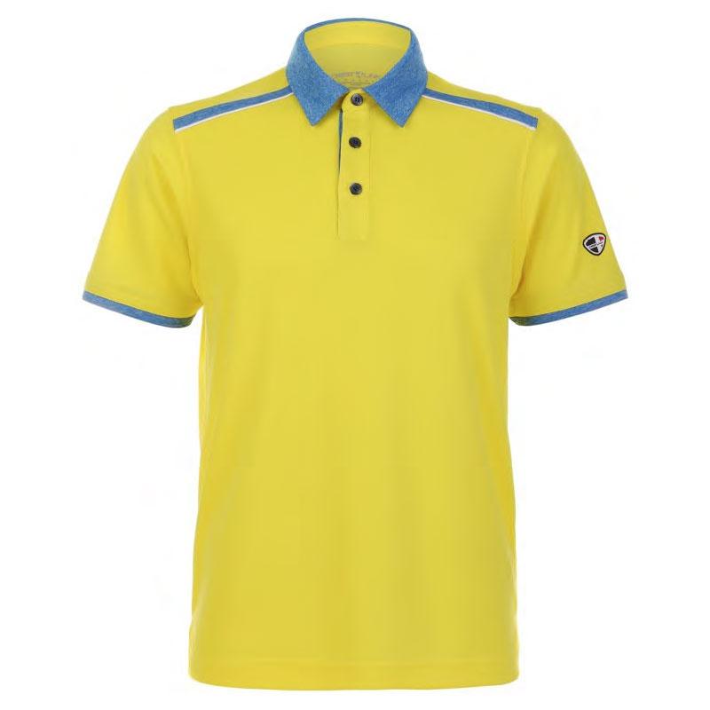 Mens Polo 80380775 Yellow