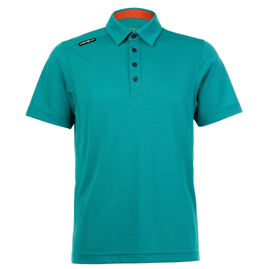 Mens Polo 80380834-Teal