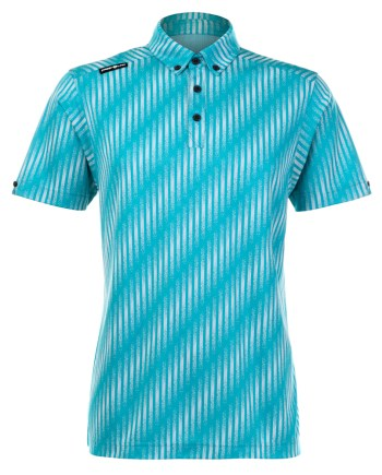 Mens Polo 80380884 - Aquamarine