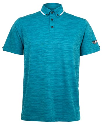 Mens Polo 80381001 in CrystalBlue