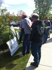 West View Area Structure Plan review at 2011 Qualico Stampede Breakfast in Crestmont