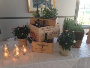 Crestmont Community Association 2013 Wine & Cheese Event Decor