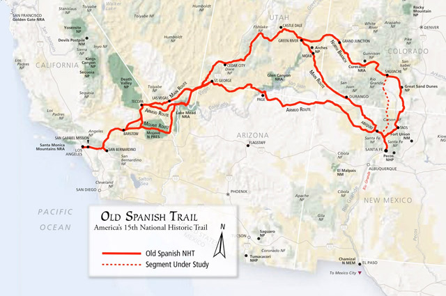 The Old Spanish Trail – Tracking Down a Trail: Part 1
