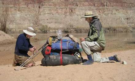 Old & Bold Men: backpacking near the Colorado River