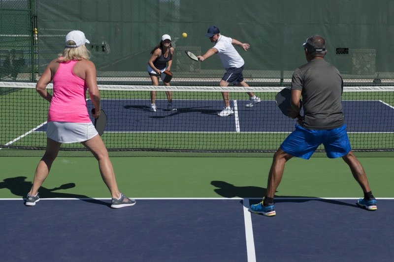 Announcing the arrival of pickleball play in Crestone