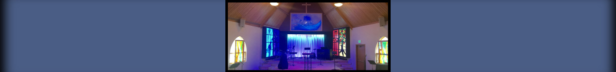 Banner Image of the Crestview Church sanctuary.