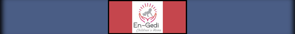 Banner image with the En-Gedi Children's Home logo.