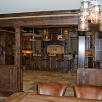 Rustic Bar Seating