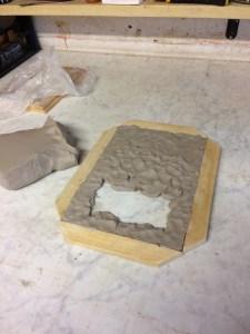 Lastra argilla prime fasi