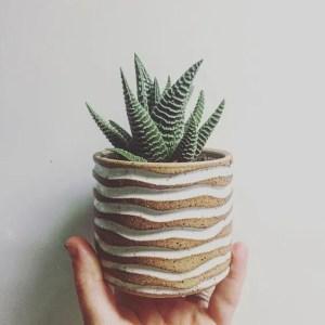 Vaso scavato con decorazione engobbio