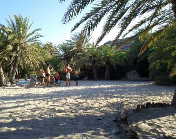 Vai Beach Crete East Lasithi Crete