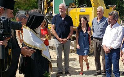 Θεμέλιος λίθος κτιριακού συγκροτήματος Περιφέρειας Κρήτης