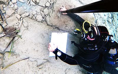 Υποβρύχια έρευνα αρχαίο Ολούντα