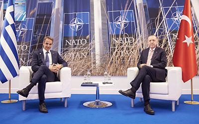 Συναντήσεις Έλληνα Πρωθυπουργού στη Συνόδου του ΝΑΤΟ