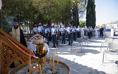 Τελετή αγιασμού Σχολής Εθνικής Ασφάλειας