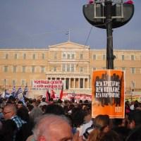 Τη Τετάρτη στις 11 του μήνα έχουμε ΕΠΑΝΑΣΤΑΣΗ, ολοι θα είμαστε έξω. Η Ελλάδα θα ζήσει και θα την σηκώσουμε ΕΜΕΙΣ οι Ελληνες, ΜΟΝΟΝ ΕΜΕΙΣ
