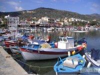 Elounda port