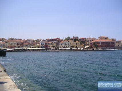 Harborside of Chania.