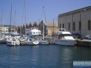 Venetian shipyards of Chania
