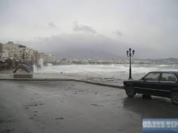Winter storms in Ierapetra.