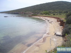 remote sandy beaches