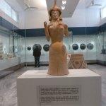 Figure of the goddess Athena