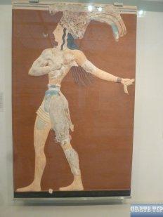 Minoan frescoes