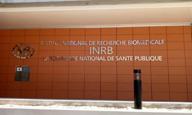 Le labo de l'INRB à Kinshasa