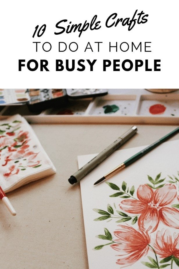 crafts to do at home