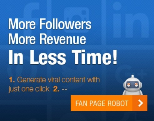 Banner Fan Page Robot