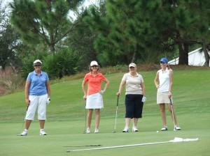 Golf Tournament Foursome