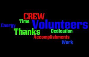 volunteer graphic wordle