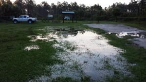 Wet trailhead CDT June 30 2014