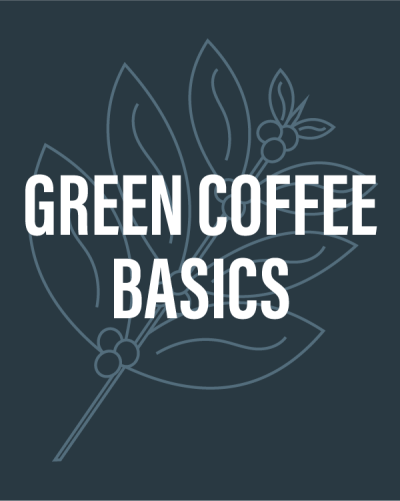 Learn about green coffee buying at the Coffee Roasting Institute!