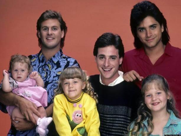"""La familia en la serie """"tres por tres"""" o """"full house"""""""