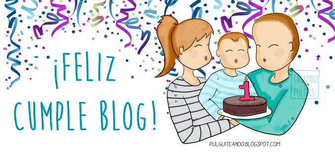 primer cumpleaños del blog