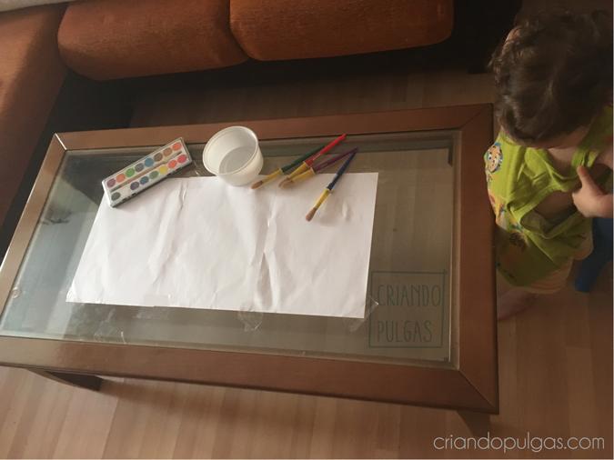 Tardes en casa - Pintando con acuarelas
