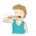 Higiene dental con dos años, nuestra experiencia