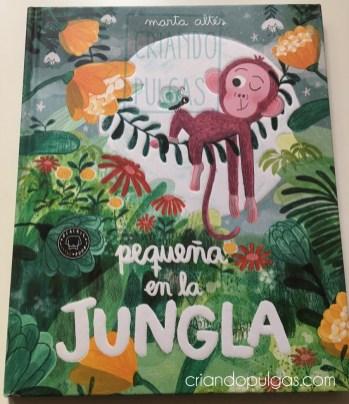 Pequeña en la jungla - Portada