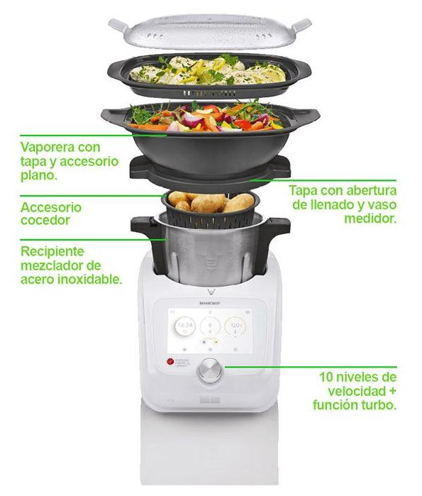 accesorios incluidos en monsieur cuisine connect